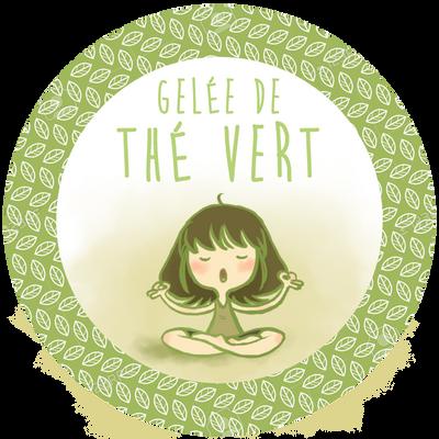 Green tea jelly by RaiseYourChickenWing