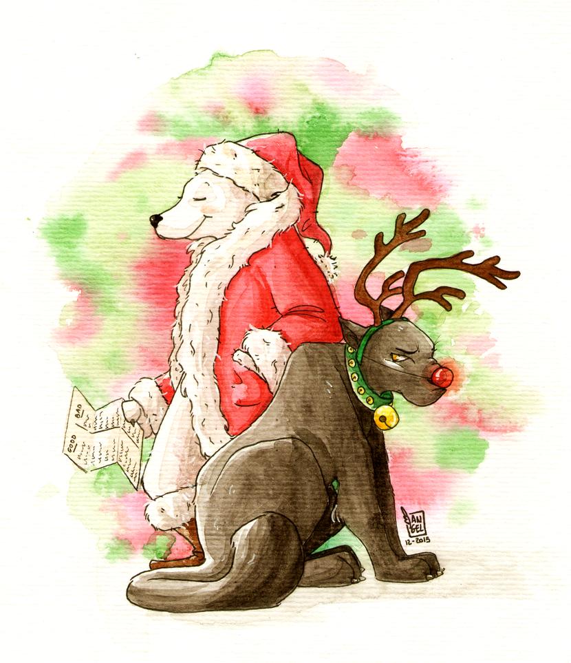 Christmas Brackets by RaiseYourChickenWing