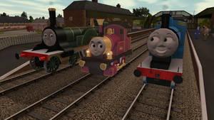 Three Old Engines