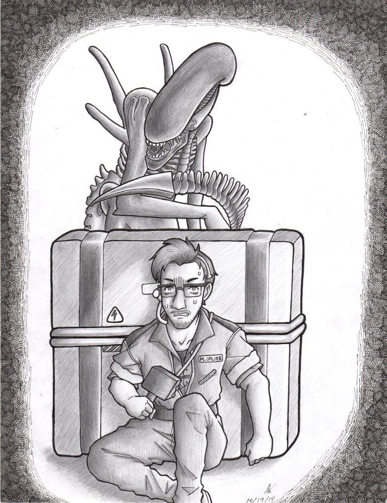 Markiplier: Alien Isolation by iloveanime9251