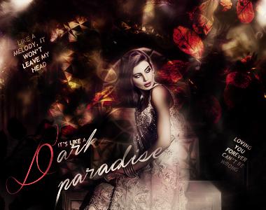 It's like a dark paradise. by winmyheart