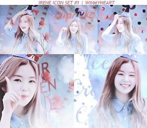 Irene icon set #1 by winmyheart