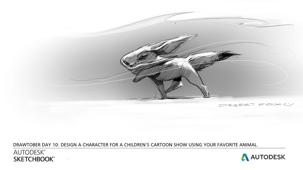 Desert Fox by CarolineVos