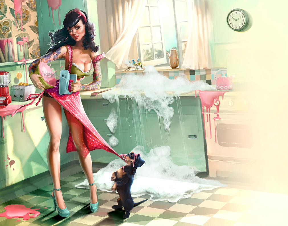Kitchen sync - New by CarolineVos