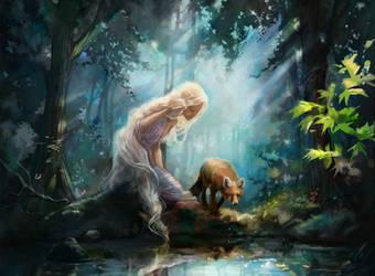 Reflecting by Caroline Vos