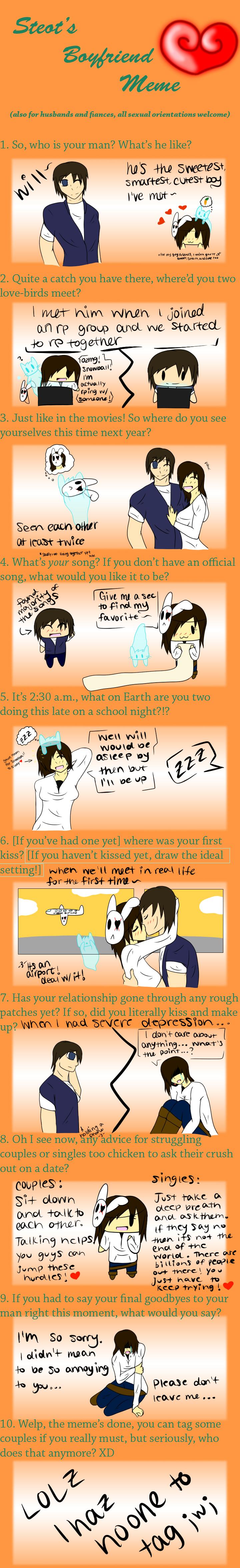Boyfriend Meme:  by MysticAzelf on DeviantArt