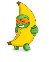 I'm a banana by Carolelyn