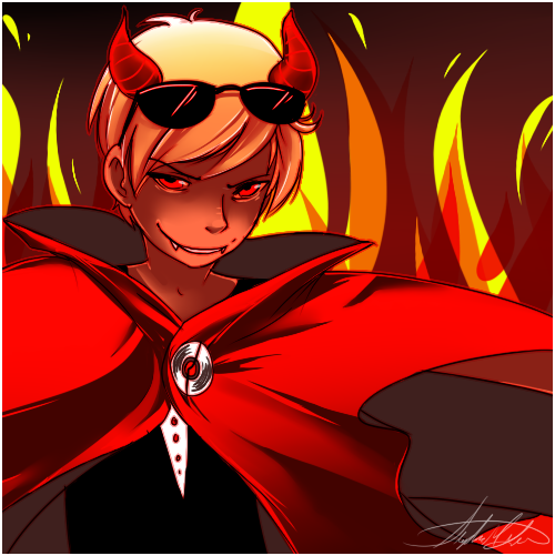 Satan-Dave by xBlimpcat