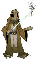 Ithorian Jedi by Jorrigun