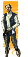 Star Wars Rebel Agent by Jorrigun
