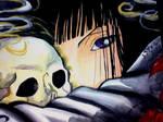 Sunako alone..