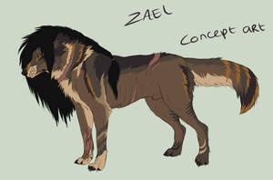 Zael ~ Concept Art by MoonlightLyanti