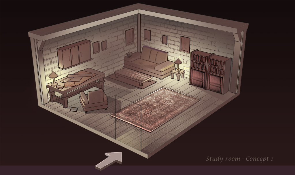 Study room Concept I by Remidubois on