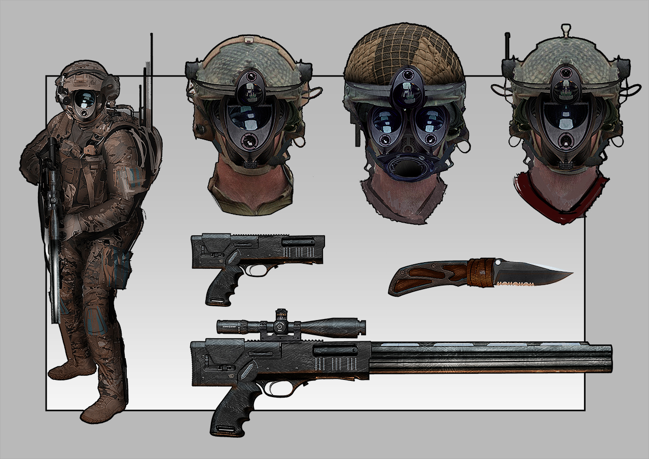 Soldier Concept Art by Remidubois
