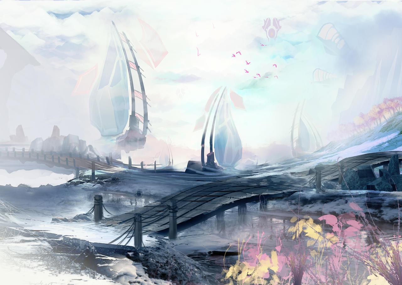 Environment Illustration by Remidubois