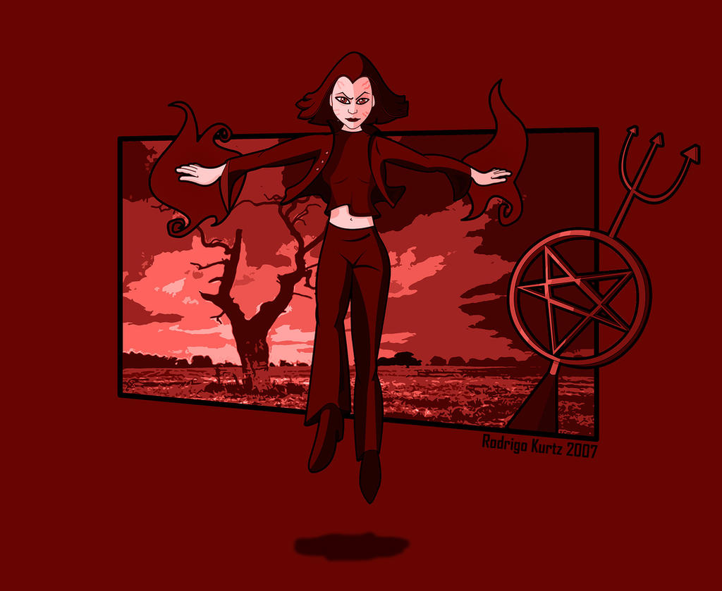 Dark Willow Rising by rodrigokurtz