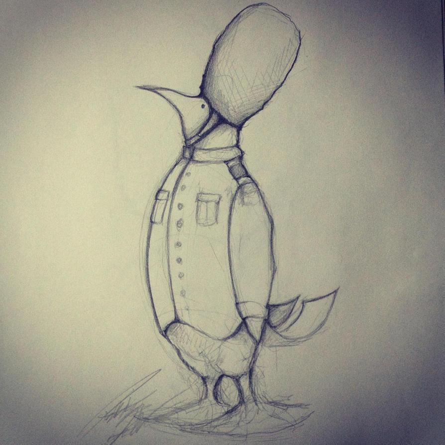 Penguin Guard by Pajaga