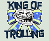 King of Trolling - Stamp by TheLadyMoon