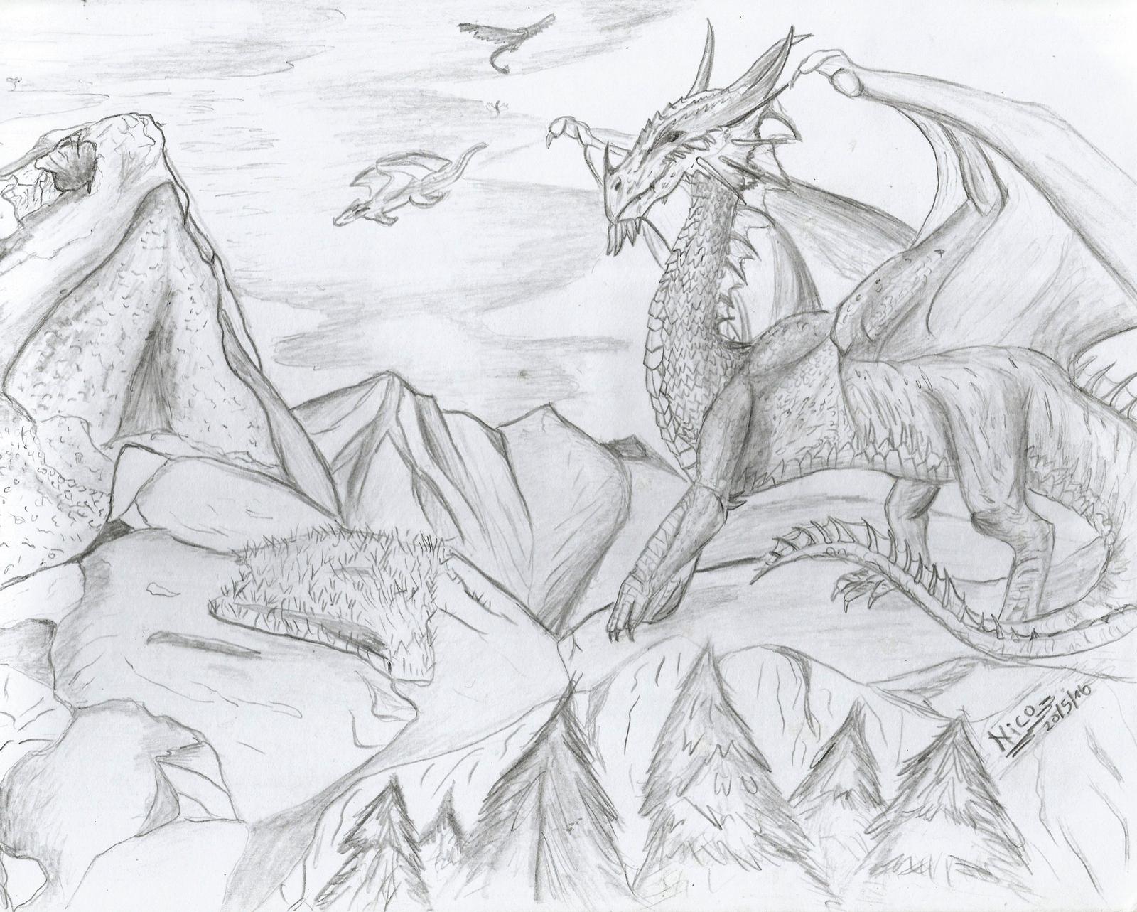 dragon 2 by nicowtc