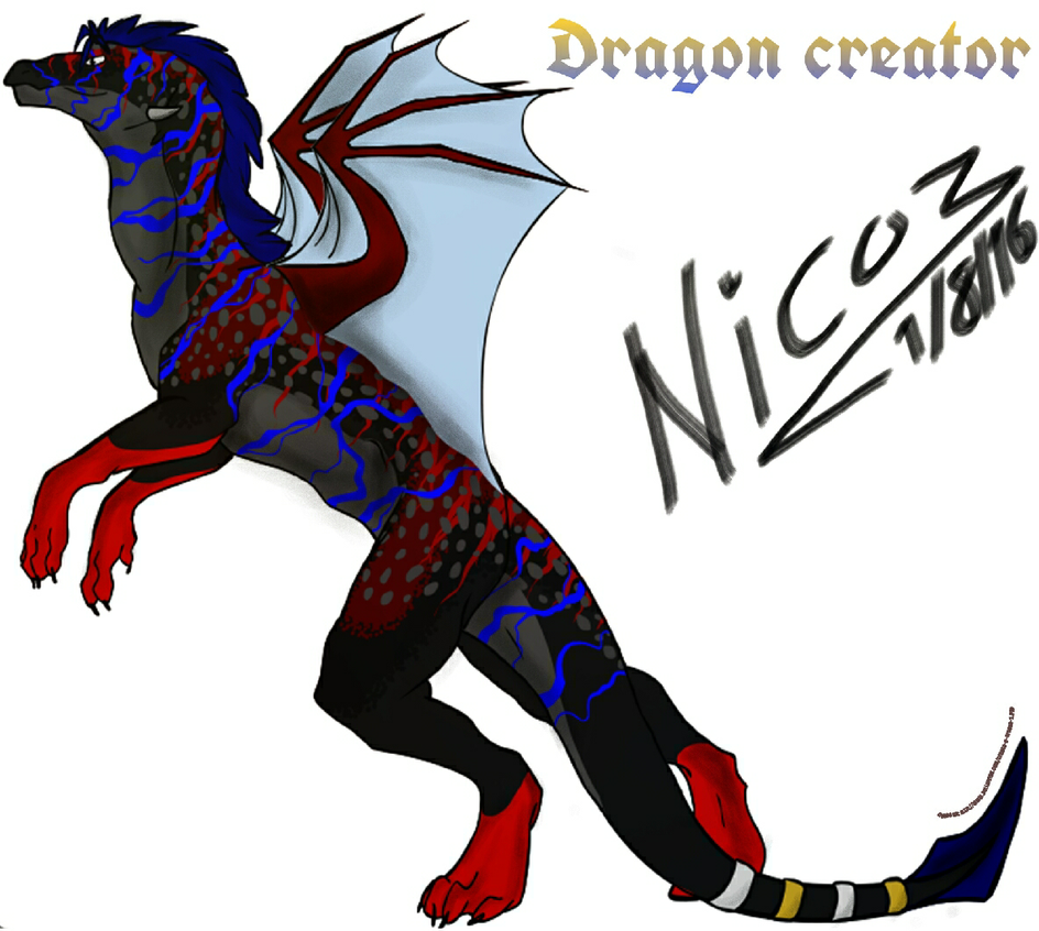 dragon creator by nicowtc