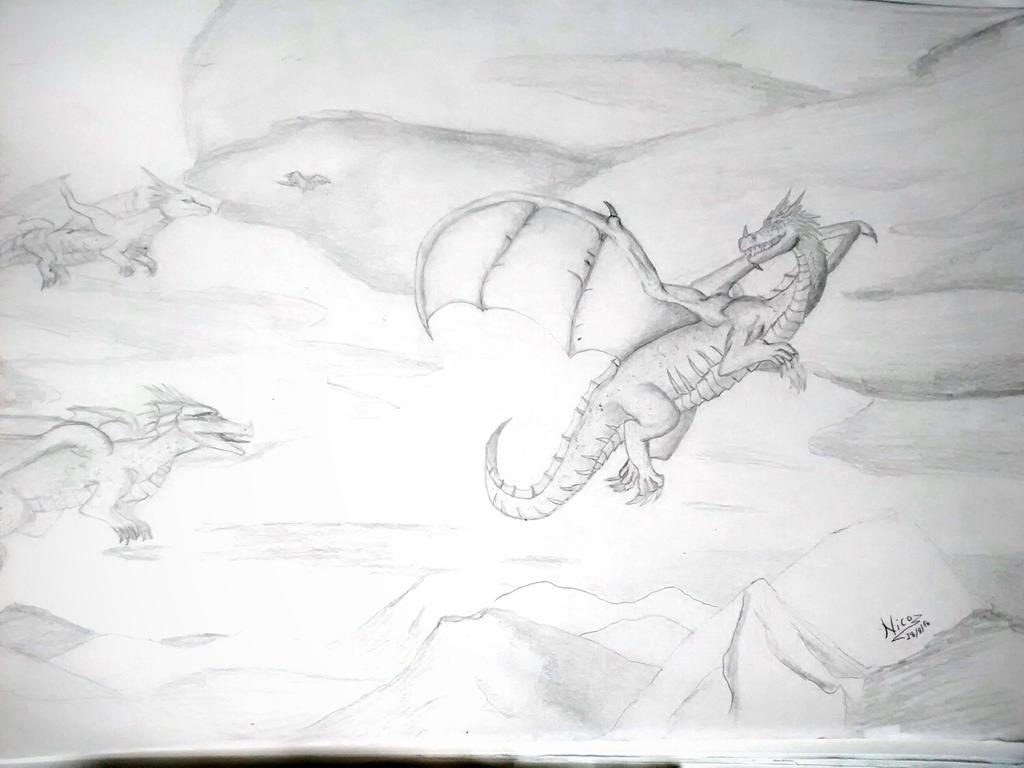 dragon by nicowtc