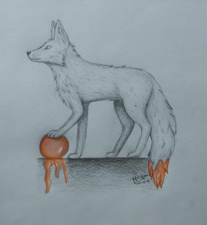 faded fox by nicowtc