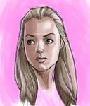 face of a girl again