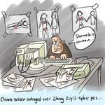 Zhang Ziyi Cartoon
