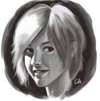 Face of a girl 3