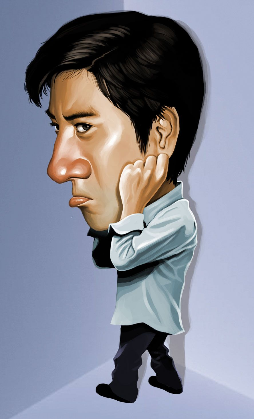 Wang Lee Hom Caricature