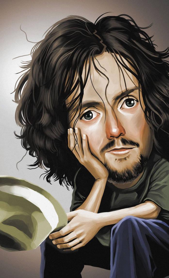 Jason Mraz Caricature