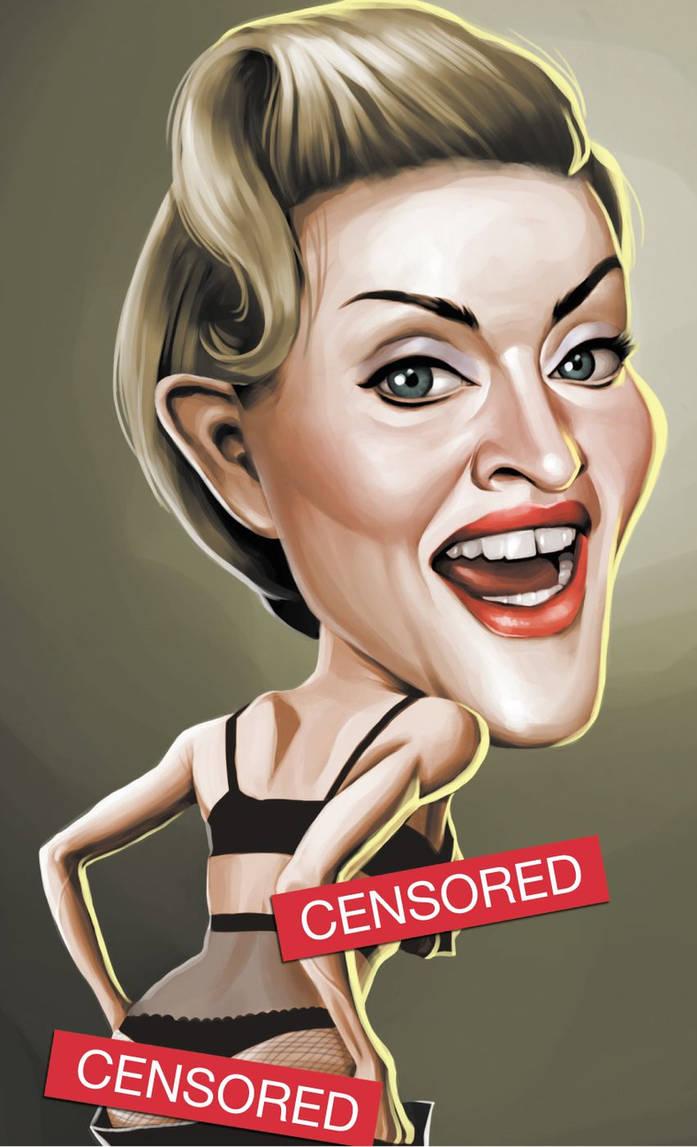 Madonna Caricature