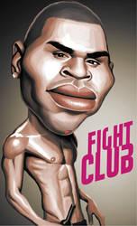 Chris Brown Caricature