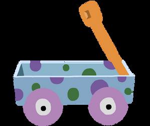 Blues Clues Wagon