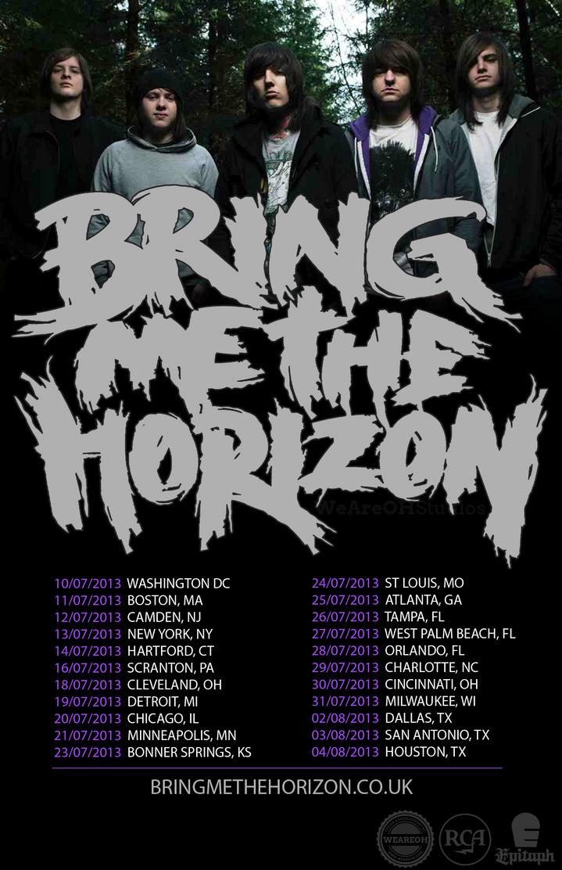 Bring Me The Horizon Tour