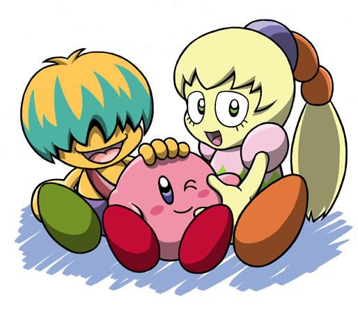 Kirby Right Back At Ya Tiff And Tuff Kirby by aomi-shikido