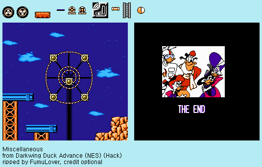Darkwing Duck Advance (NES) (Hack) - Miscellaneous by FumuLover
