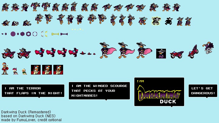 Darkwing Duck (NES) - Darkwing Duck (Remastered) by FumuLover