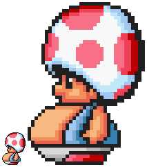 Fat Toad Sprite by FumuLover