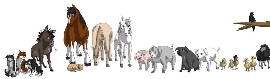 Animal farm by Mana-ghostwolf on DeviantArt