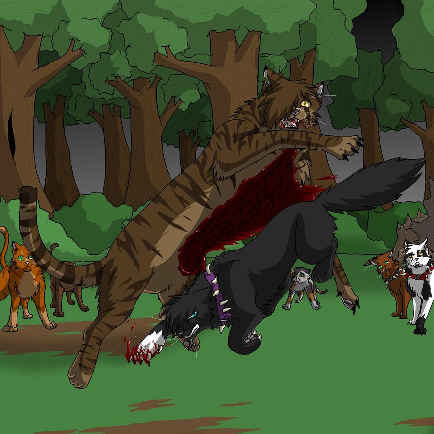 Warrior Cats Dead: Tigerstar's Death By Mana-ghostwolf On DeviantArt