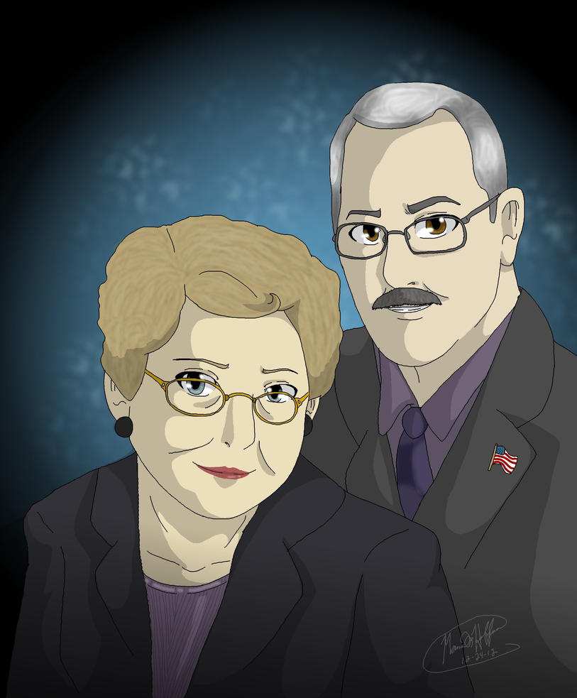 My great-grandparents by Mana-ghostwolf