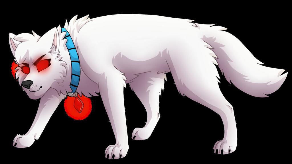 De ghost wolf by Mana-ghostwolf