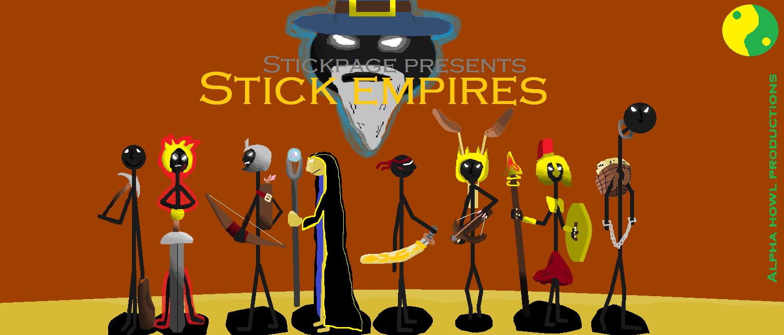 Stick wars two wallpaper final version by Zanzos
