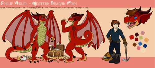 Philip Adler - Western Dragon Form [Reference]