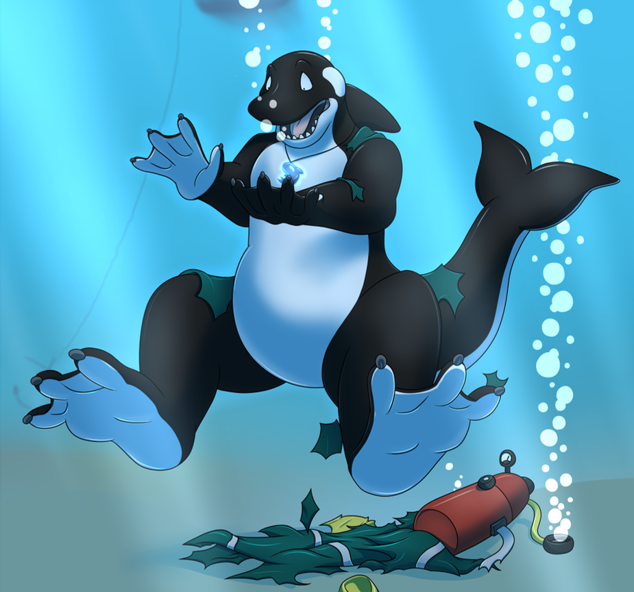 A Whale Of A Treasure! - 3/3 by Pheagle-Adler