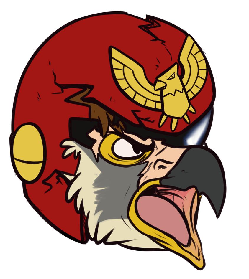 TF Headshot: Captain Falcon by Pheagle-Adler