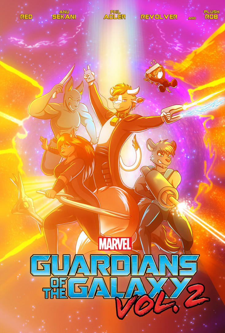 Guardians of the Galaxy Vol. 2 by Pheagle-Adler