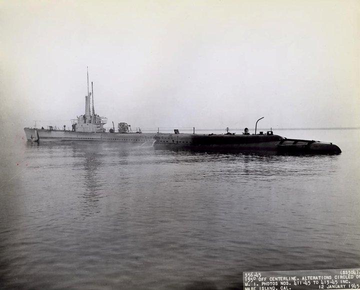 USS Seahorse by kefkaRaiders
