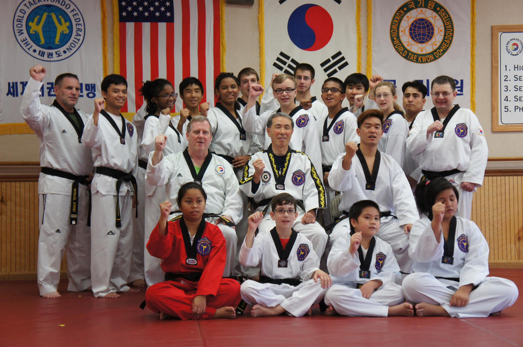 Oct-2014 black belt  test pic 18 by kefkaRaiders